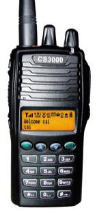 CSI CS3000 UHF/VHF LTR Handheld Radio