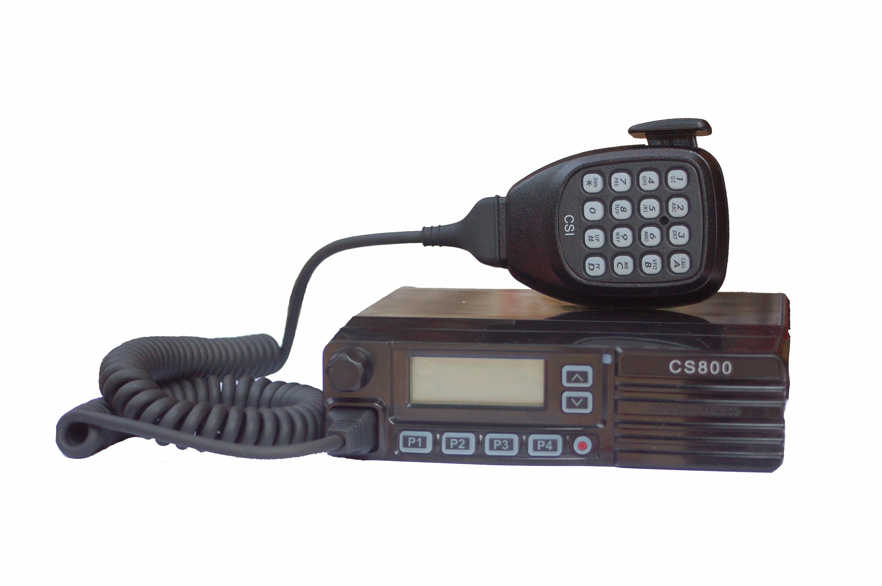 CSI CS800 UHF / CS801 VHF MOBILE Radio